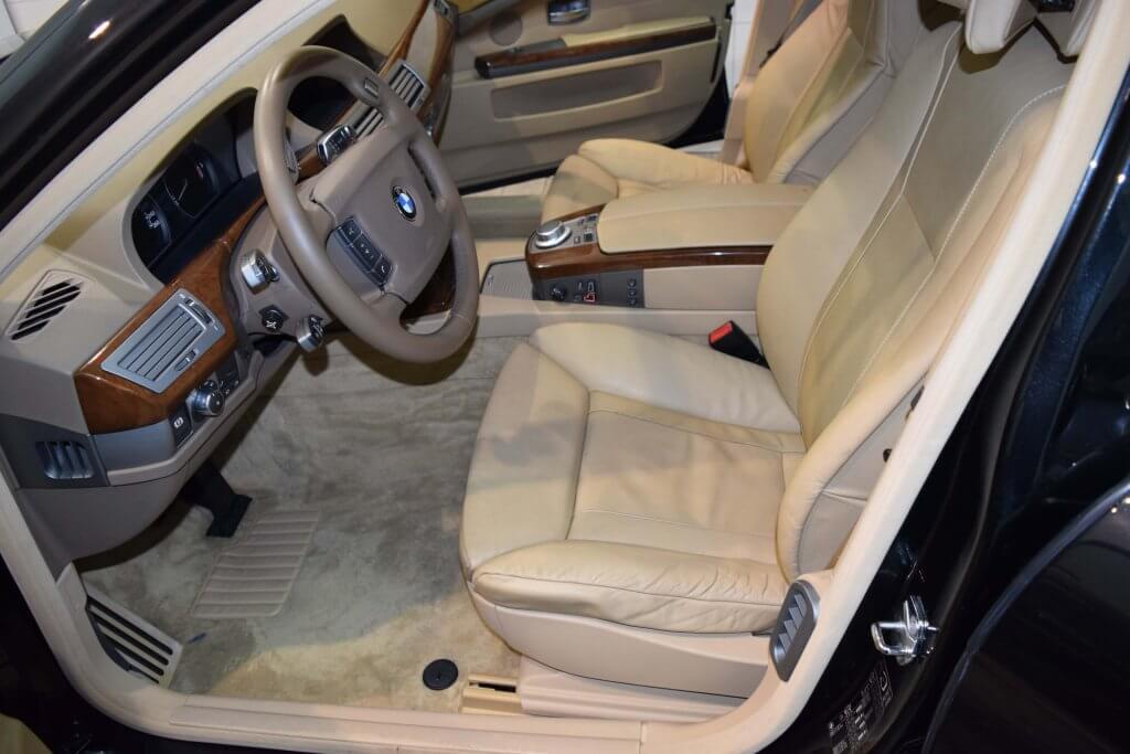 Fahrzeug Innenreinigung Lederpflege