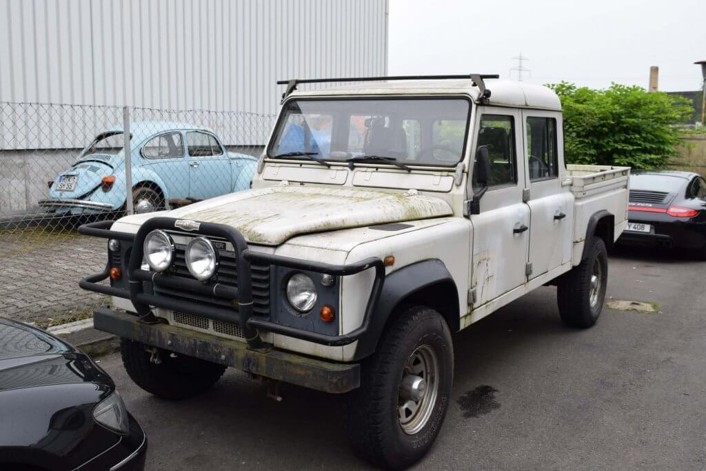 Land Rover Lackaufbereitung - vorher