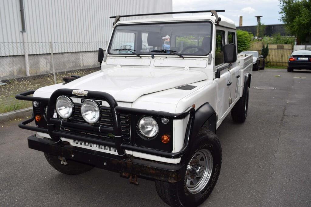 Land Rover Lackaufbereitung nachher